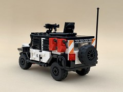 2020 JL Jeep Wrangler Tactical (-Noble) Tags: lego jeep jeeplife overland 4x4