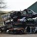 Pile of Mercedes wrecks