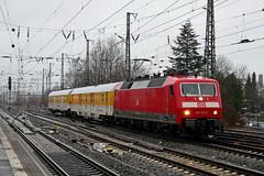 P2000323 (Lumixfan68) Tags: eisenbahn züge loks baureihe 120 elektroloks drehstromloks deutsche bahn db systemtechnik messzüge bahndienstfahrzeuge