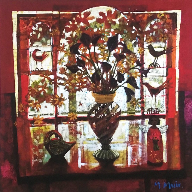Autumn Window Morag Muir