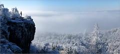 Die Erhabenheit der Natur... (Christoph Bieberstein) Tags: hoher schneeberg děčínský sněžník raureif schnee winter snow zima tschechien tschechiche republik böhmen czech republic bohemia europa europe čechy česko ceská republika januar 2020 sandstein pískovec labské pískovce aussicht nebel mlha fog natur nature eis ice