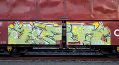 Graffiti on Freights (wojofoto) Tags: amsterdam nederland netherland vrachttrein cargotrain güterzug freighttraingraffiti freighttrain freights fr8 graffiti streetart wojofoto wolfgangjosten her