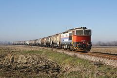 Ancora con il vestito vecchio... (Maurizio Zanella) Tags: treni trains ferrovia railways cti captrain si d753005 mrs46604 italia pavia torreberetti
