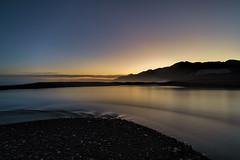 Dusk over South Coast, NZ (StarCitizen) Tags: newzealand water sky sea reflection bestcapturesaoi elitegalleryaoi aoi