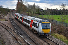 170271 - March - 06/01/20. (TRphotography04) Tags: debranded greater anglia 170271 departs march 2e74 1001 ipswich peterborough service
