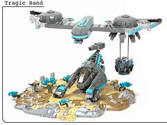 Tragic Band (Sheo.) Tags: lego moc scifi collaboration