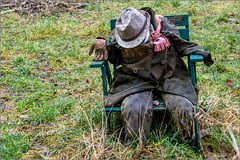 Im Winterschlaf / In hibernation (ludwigrudolf232) Tags: puppe person