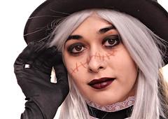 ..... (robertoburchi1949) Tags: carnival maschera costume ragazza girl beauty bellezza occhi eyes volto face portrait ritratto