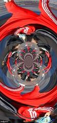 adidas (archgionni) Tags: astratto abstract colori colours rosso red girl ragazza fantasia fantasy