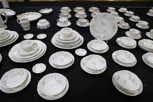 "132 pieces of Haviland ""Norma"" Schleiger #233 ($532.00)"