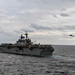 USS America sails in formation with other U.S. ships in the Philippine Sea