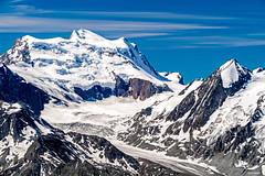 Grand Combin, 4314m (Robert J Heath) Tags: penninealps svizzera schweiz switzerland verbier montfort valais wallis landscape mountain rocks rocky ridge glacier gletscher peak gipfel summit alpine snow