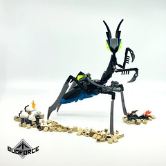 BUGFORCE: Marksman Mantis (ladieswholego) Tags: bionicle legomoc legospace space legobug lego scifi