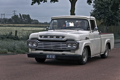 Ford F-100 Pick-Up Truck 1959 (3760) (Le Photiste) Tags: clay cf 1959 fordf100pickuptruck fordmotorcompanydearbornmichiganusa fordfseriesiii19571960modelf100pickuptruck beautiful perfect mostinteresting perfectview rarevehicle mostrelevant oddvehicle afeastformyeyes americanpickuptruck oddtransport aphotographersview nuestrasfotografias waarlandthenetherlands autofocus gearheads carscarscars beautifulcapture artisticimpressions anticando digifotopro alltypesoftransport blinkagain canonflickraward creativeimpuls bloodsweatandgear cazadoresdeimágenes bestpeople'schoice interesting fairplay ineffable friendsforever finegold greatphotographers digitalcreations inmyeyes damncoolphotographers iqimagequality fandevoitures livingwithmultiplesclerosisms infinitexposure django'smaster groupecharlie photographers soe photomix prophoto slowride myfriendspictures simplysuperb lovelyflickr photographicworld niceasitgets showcaseimages planetearthbackintheday mastersofcreativephotography planetearthtransport wow simplythebest themachines thebestshot simplybecause yourbestoftoday vividstriking theredgroup transportofallkinds thepitstopshop thelooklevel1red wheelsanythingthatrolls oldtimer