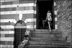 Stairway (GColoPhotographer) Tags: bw sanpietro bianconero blackandwhite church portovenere stair liguria architechture