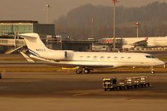 N451CS (GH@BHD) Tags: n451cs gulfstreamaerospace gulfstream g650 g650er g6 globalreach18llc zrh lszh zurichairport zurich kloten aircraft aviation bizjet corporate executive wef wef2020