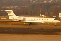 N652BA_01 (GH@BHD) Tags: n652ba gulfstream gulfstreamaerospace g6 g650 bankofamerica zurichairport zurich zrh lszh aircraft aviation airliner executive corporate bizjet wef wef2020