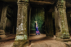 Exploring Ta Phrom (ericmontalban) Tags: cambodia taphorm siemreap asia temples