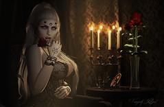 Libera Me (Vanjah Rajal) Tags: secondlife sl dark vampire goth gothic catwa doux demon bento