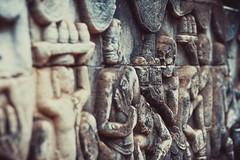 Bas- reliefs of Bayon Temple (ericmontalban) Tags: cambodia siemreap basreliefs temple
