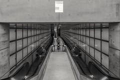 The Tunnel (andreasscharr) Tags: canon canon5dmarkiv leipzig tunnel germany city blackandwhite schwarzweis monochrom einfarbig black architektur architecture sbahn