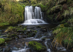 River Noe (l4ts) Tags: landscape derbyshire peakdistrict darkpeak edale rivernoe waterfall longexposure circularpolarisingfilter