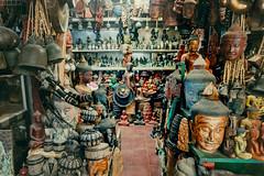 Souvenir shop in Siem Reap, Cambodia (ericmontalban) Tags: siemreap cambodia asia