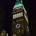 Metropolitan Life Clock Tower at Night in Madison Square Park Flatiron District Manhattan New York City NY P00423 DSC_9532