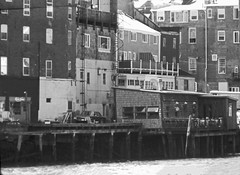 Waterfront - Portsmouth, NH (RockN) Tags: waterfront bw august 1976 portsmouth newhampshire newengland