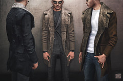 [Deadwool] Polar coat ([Deadwool] // Masa Plympton) Tags: deadwool masaplympton secondlife meshclothingformen fur coat sl furcoat men fashion