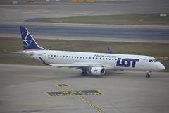 SP-LNL Embraer EMB-195 ZRH 24Jan2020 (Citation Ten) Tags: splnl e190 lot zrh