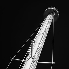 Guidance (OzzRod) Tags: pentax k1 zenitarm50mmf17 зенитарм tower navigation harbour monochrome blackandwhite contrast square newcastle