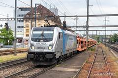 187008 20190516 Pratteln (steam60163) Tags: class187 traxx pratteln switzerland swissrailways railpool