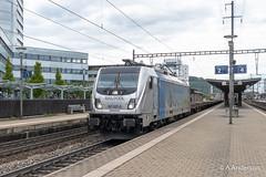 187007 20190515 Pratteln (steam60163) Tags: class187 traxx pratteln switzerland swissrailways railpool