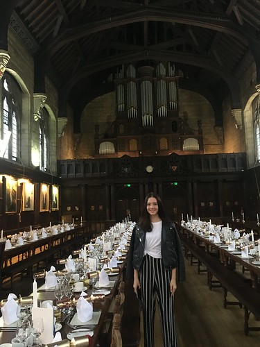 Ekaterina at Balliol College Oxford