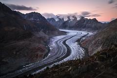 Aletsch Gacier (Mopple Labalaine) Tags: riederalp wallis switzerland aletsch glacier aletschgletscher