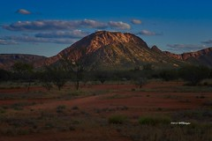 Austrailian Sunset 2010 (wfgphoto) Tags: australia sunset mountain outback shadow light