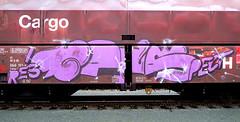 Graffiti on Freights (wojofoto) Tags: amsterdam nederland netherland holland vrachttrein güterzug cargotrain freighttraingraffiti freighttrain freights fr8 graffiti streetart wojofoto wolfgangjosten noeb noob