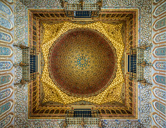 Gold ceiling in the Hall of the Ambassadors (bardwellpeter) Tags: januarys pangf7 seville o918