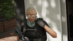 Tom Clancy's Ghost Recon® Breakpoint (Ascedus) Tags: ghostrecon ghost recon breakpoint nomad female bald terminator shaved wolves character