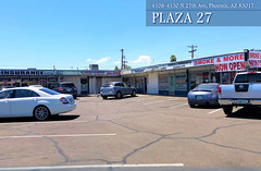 "PLAZA 27 4108-4130 N. 27TH AVE | PHOENIX, AZ 85017 • <a style=""font-size:0.8em;"" href=""http://www.flickr.com/photos/63586875@N03/49468723616/"" target=""_blank"">View on Flickr</a>"
