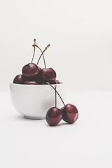 31/366 Just a Bowl of Cherries (belincs) Tags: stilllife oneaday january bowl flash lincolnshire cherries 2020 366 uk indoors 366the2020edition 3662020 day31366 31jan2020