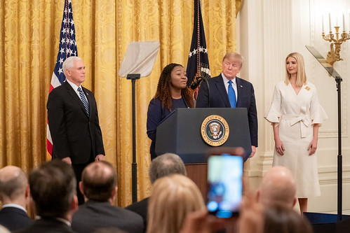 President Trump at the White House Summi by The White House, on Flickr