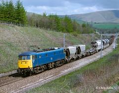 AL5 In The Fells (chrissyMD655) Tags: wcml class 85 85103 br blue howgill fells cumbria beckfoot