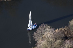 Pegasus 700 - Amy sailing into Malthouse Broad - aerial image (John D Fielding) Tags: yacht sailing boat sagitta amy q482 norfolk norfolkbroads broads broadsnp broadsnationalpark thebroads above aerial nikon d810 hires highresolution hirez highdefinition hidef britainfromtheair britainfromabove skyview aerialimage aerialphotography aerialimagesuk aerialview viewfromplane aerialengland britain johnfieldingaerialimages fullformat johnfieldingaerialimage johnfielding fromtheair fromthesky flyingover fullframe cidessus antenne hauterésolution hautedéfinition vueaérienne imageaérienne photographieaérienne drone vuedavion delair birdseyeview british english rydgewaymarine pegasusyachts gordonvharris