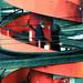 Rote Treppe am Bucheggplatz, Zürich