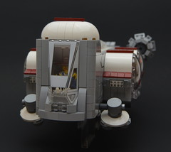 Farm Animal Hauler (mkjosha) Tags: space lego farm pig chicken