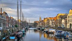Rotterdam, Netherlands: Delfshaven Marina (nabobswims) Tags: delfshavenmarina hdr highdynamicrange ilce6000 lightroom marina mirrorless nl nabob nabobswims netherlands photomatix rotterdam sel18105g sonya6000 zuidholland goldenhour