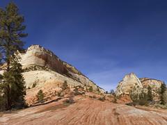 Eastern Part of Zion National Park, Utah (swissuki) Tags: eastern park part zion national nature largelandscape landscape mountain mesa ut utah sky