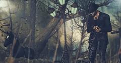 ⚡At the corner of lost & found... (Markthedark ϟ) Tags: second life markthedark marked fashion male men woods music lyric inspiration arranmore gabriel jfl meva blog blogger dark graffiti hipster hat smile this is where secret messages r